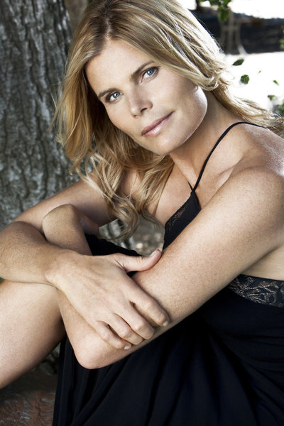 At Home With Mariel Hemingway, Her Boyfriend Bobby Williams And Mariel's Daughter Langley Fox