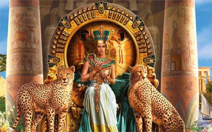 24x36-inch-art-silk-poster-cleopatra-vii